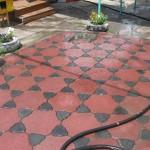 танец змей тротуарная плитка