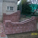 фасадный камень из бетона