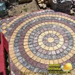 бетонная мозайка