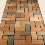 мозайка из плитки калифорния