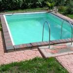 бассейн и брусчатка фото